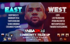 NBA 2K14 Team-Up Community Challenge Highlights and Game Re-caps