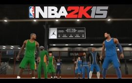 Game Highlights from NBA 2K15 Jordan Rec Center