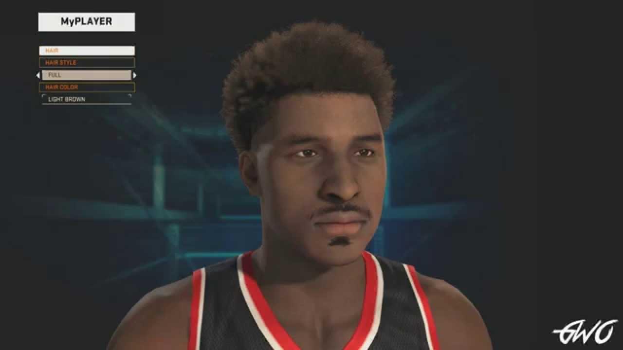 NBA 2K15 My Player Hairstyles and Tattoos | NBA 2KW | NBA ...