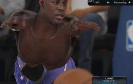 Hilarious and Bizarre NBA 2K15 Glitch Renders a Mutated Jrue Holiday