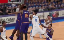 One of the Luckiest Shots You'll Ever See in NBA 2K15