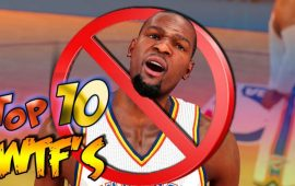 Top 10 'WTF' Moments in NBA 2K15 feat. Kevin Durant