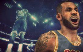 LeBron James Game Winning Buzzer Beater vs Chicago Bulls Recreated in NBA 2K15