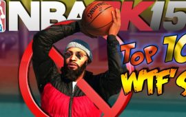 NBA 2K15 Top 10  MyPARK Bloopers