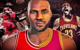 NBA 2K15: LeBron James vs Michael Jordan