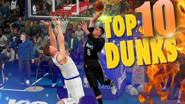NBA 2K16 Top 10 Dunks, Posterizers & Alley-Oops of the Week #2