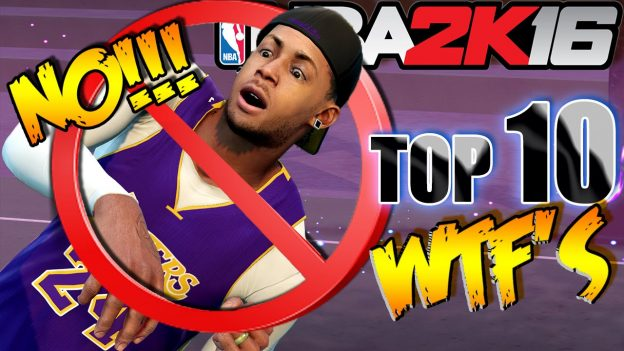 NBA 2K16 Top 10 WTF Funny Moments at MyPARK