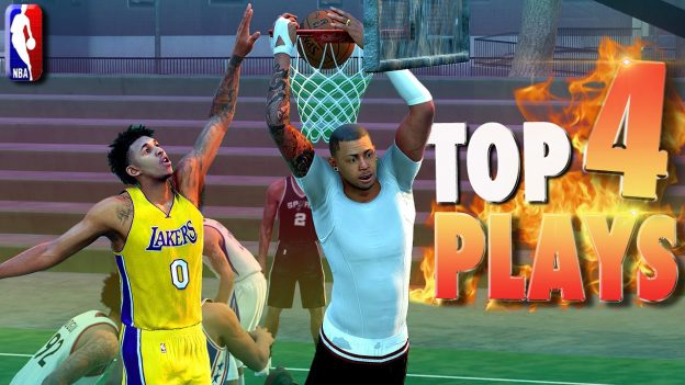 NBA 2K16 Top 4 Plays of the Month (June): Posterizers, Trick Shots & Blocks