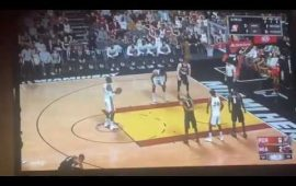 NBA 2K17 Leaked Gameplay: Blazers at Heat