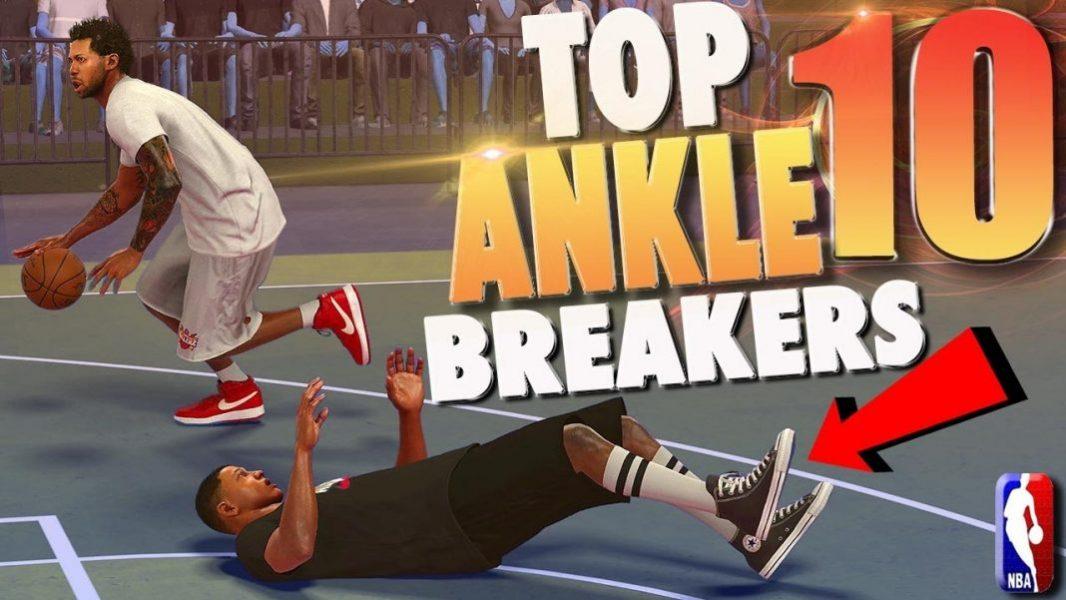 nba 2k17 top 10 mypark ankle breaker crossover dribble moves of