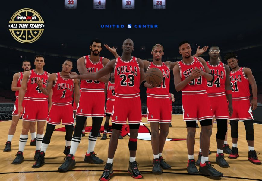 NBA 2K18 All-Time Teams Rosters & Player Ratings (Complete List