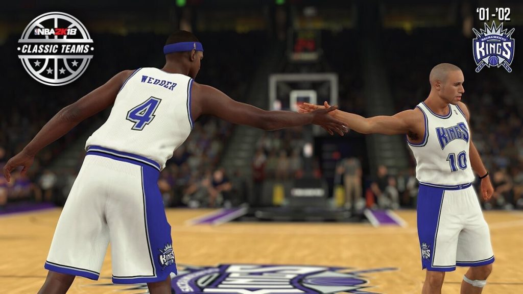 NBA 2K18 Classic Teams List w Rosters Notable Players  Chris Webber ... fab68fe31