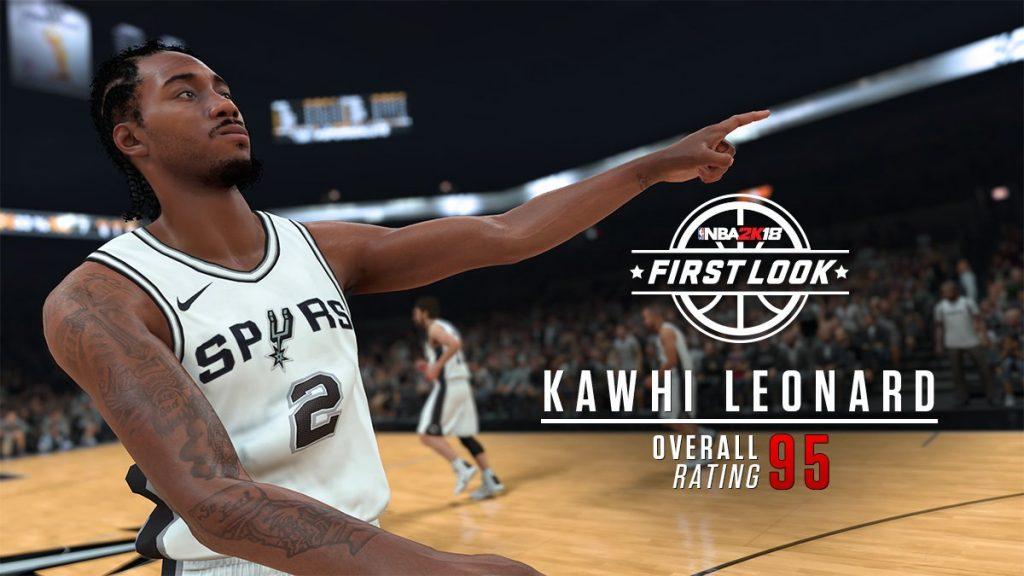 NBA 2K18 Player Ratings & Screenshots: Kawhi Leonard, Derrick Rose