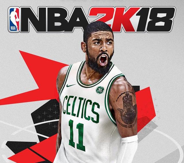 bdfe345934b NBA 2K18 New NBA 2K18 Kyrie Irving Cover Revealed