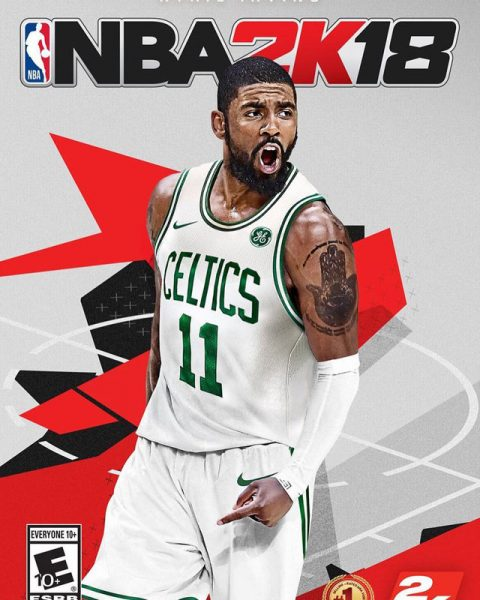 New Cover S Alert The 2017 18 Nba Rookies: NBA 2K18 New NBA 2K18 Kyrie Irving Cover Revealed