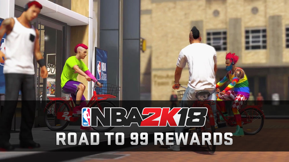 Leveling up your overall rating in NBA 2K18's MyCAREER and The Neighborhood  will unlock cool rewards and exclusive accessibility.