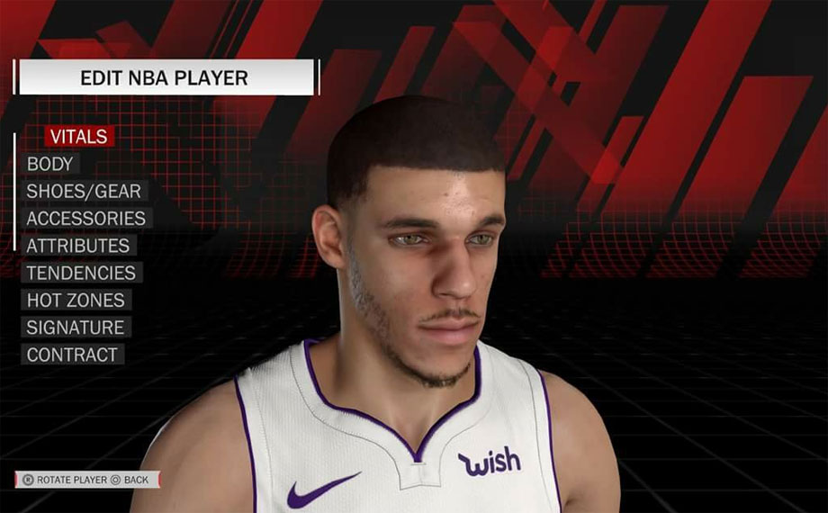 how to use created player in nba 2k18