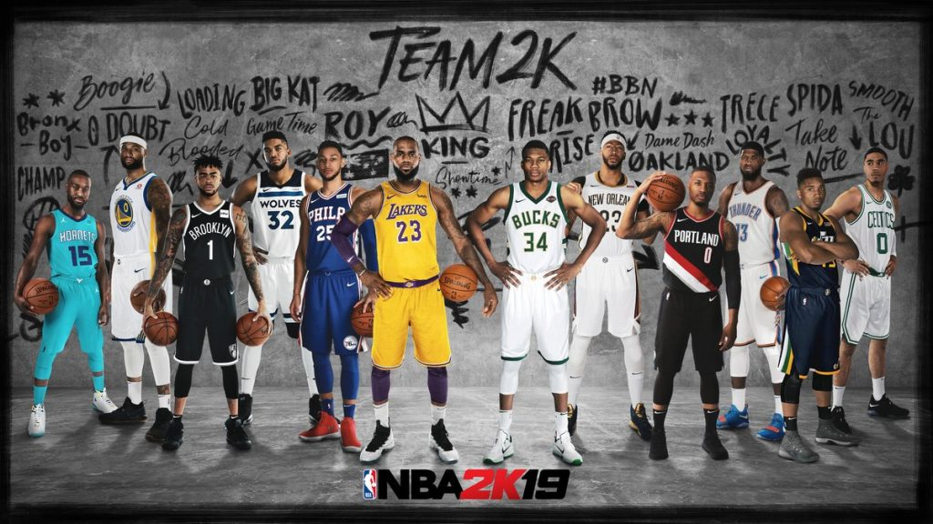 Nba 2k19 Team 2k Players Announced Nba 2kw Nba 2k20 News Nba