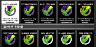 nba-2k19-badges-spreadsheet | NBA 2KW | NBA 2K20 News | NBA 2K20
