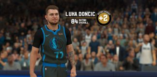 99f2cec1e5b NBA 2K19 Ratings   Roster Update  Rookie Luka Doncic (84 OVR).