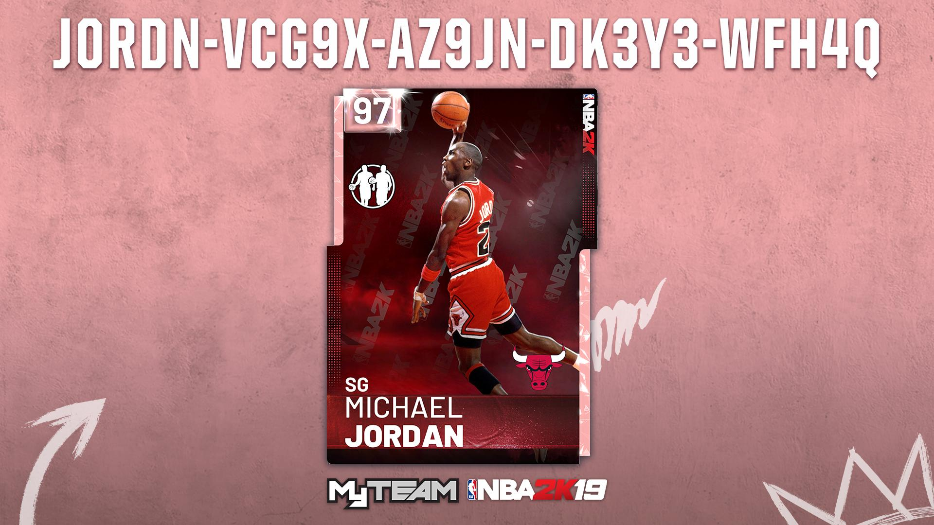 Pink Diamond Michael Jordan Nba 2k19