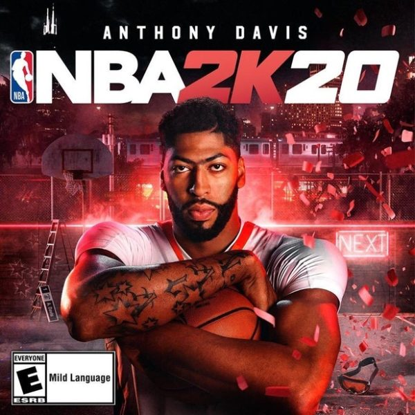 Nba 2k20 Cover Athlete Is Anthony Davis Nba 2kw Nba 2k20