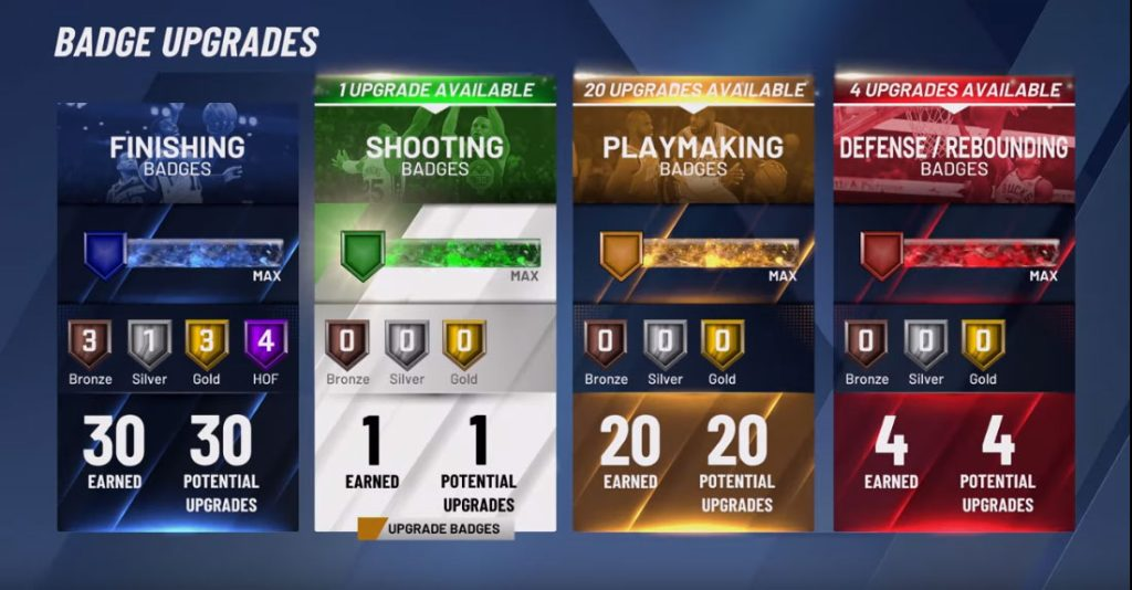 NBA 2K20 All-in-One Complete Badges Guide   NBA 2KW   NBA