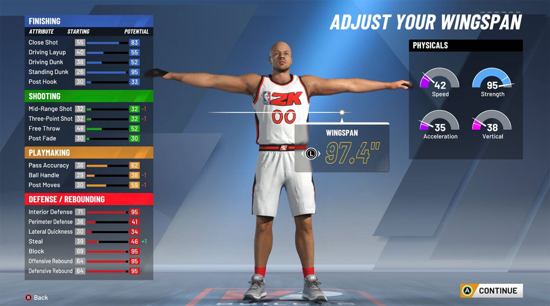 Best Big man Center build for 2K20