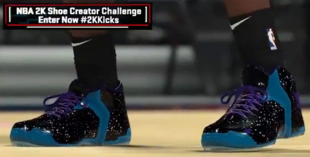 NBA 2K20 Shoe Creator Challenge Details